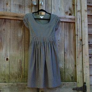 Garnet Hill Cute polka dot summer dress